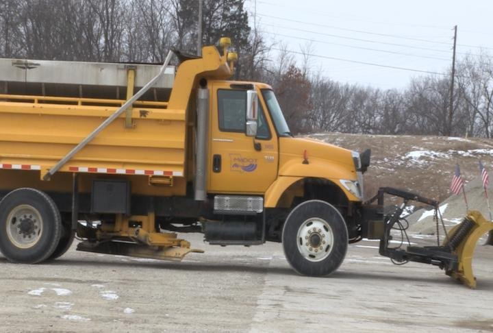 MoDOT officials said the trucks are prepared and ready to respond this weekend.