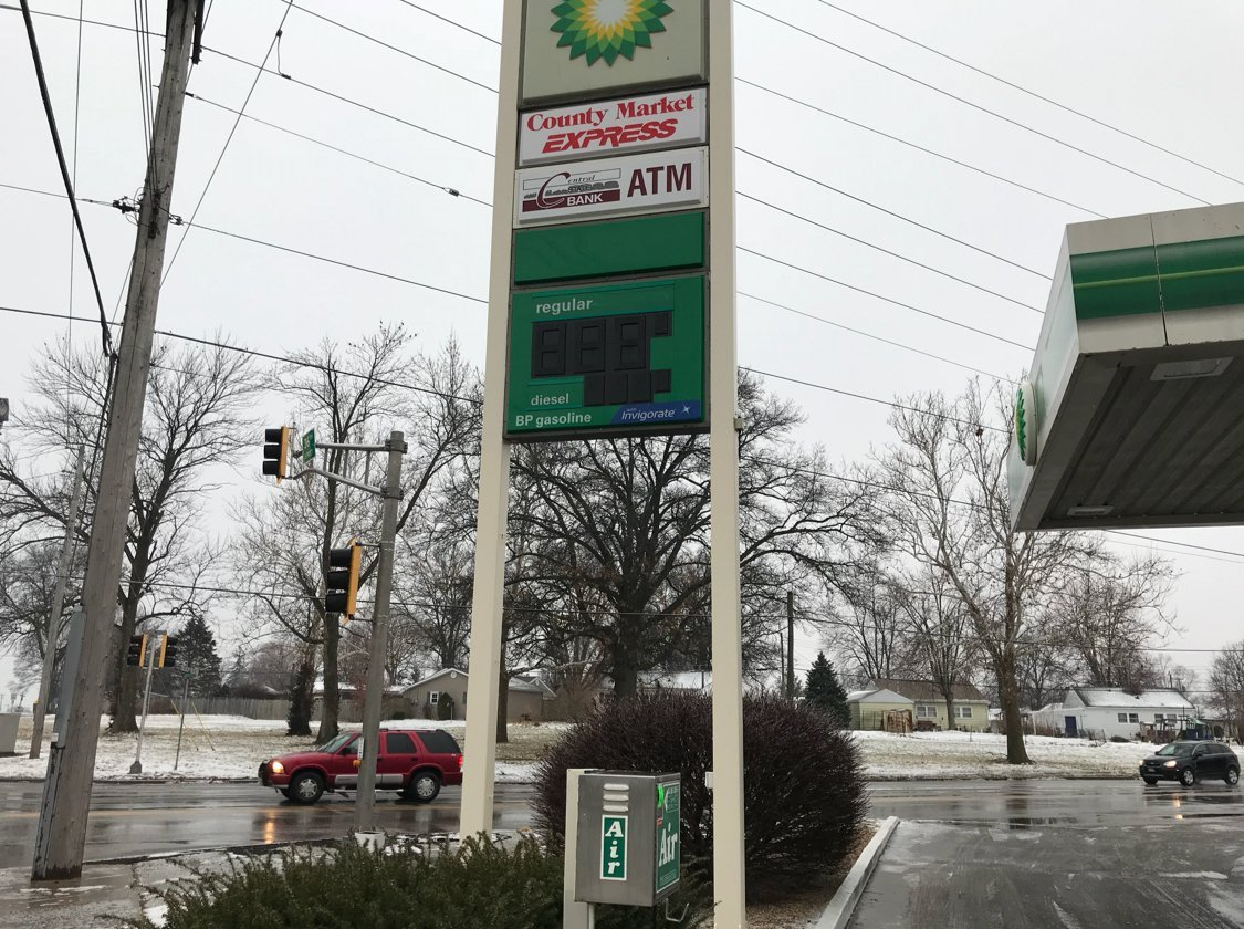 County Market Express and BP Gas station lost power on site.