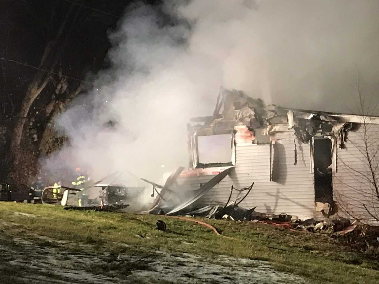 House fire in Hannibal