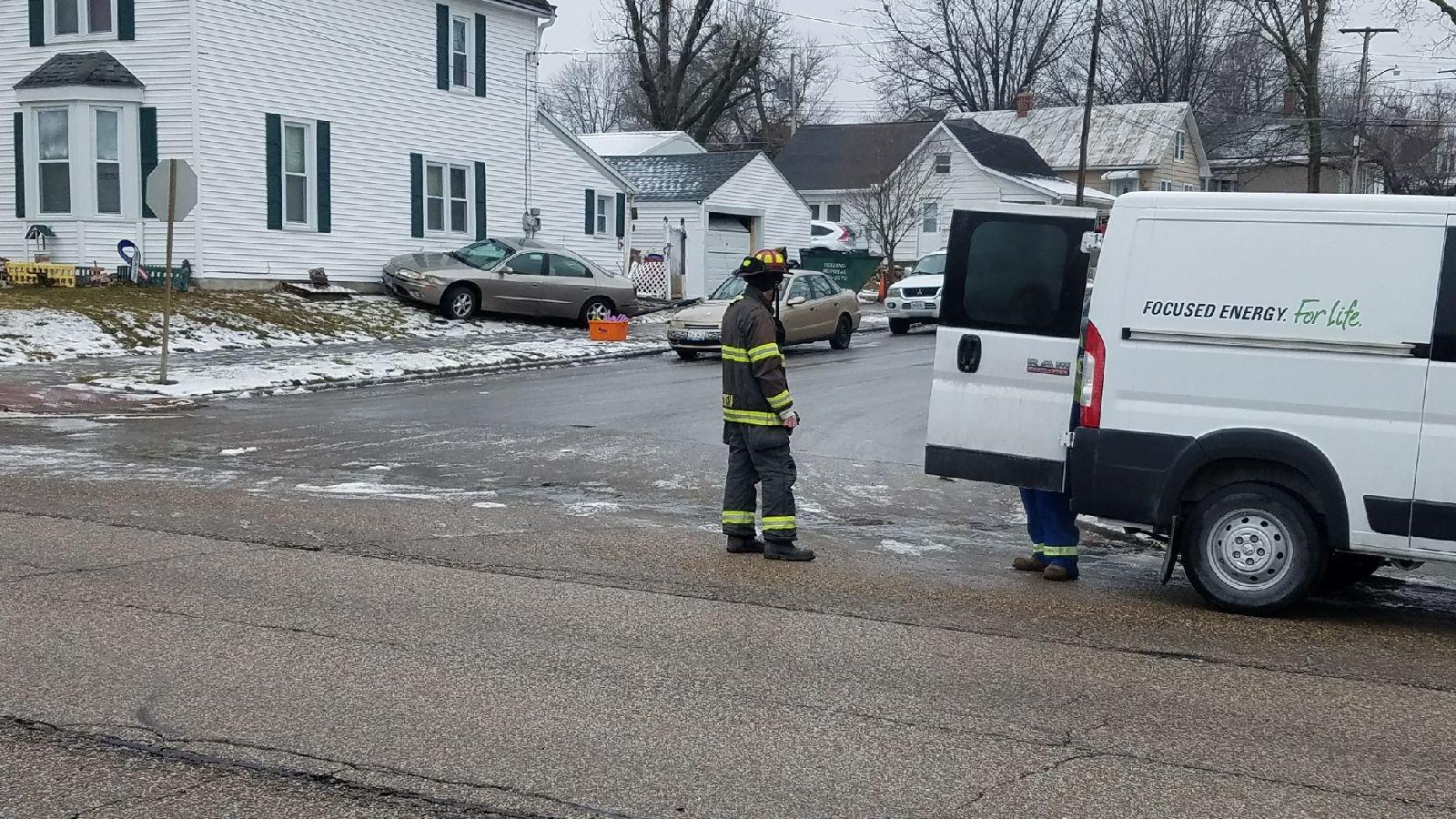 Ameren Illinois was also on scene.