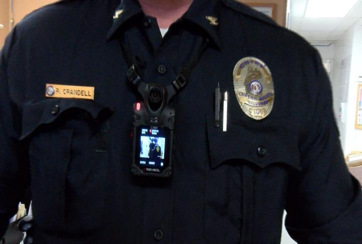 New body cameras on Canton police officers.