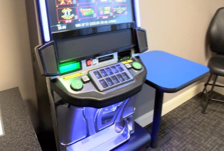 Video gaming machine