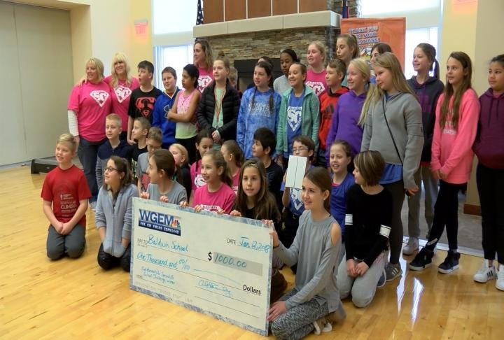 Baldwin School won the Fall Harvest Challenge.