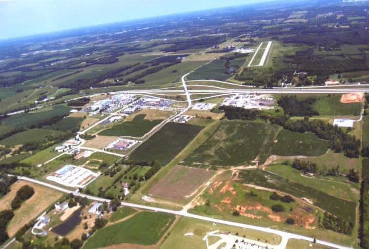 Aerial look at the Northeast Missouri region
