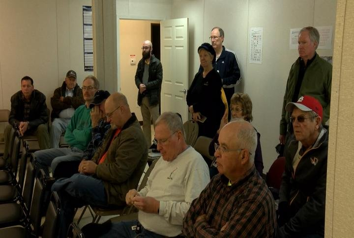 Residents got a chance to ask questions about the project.
