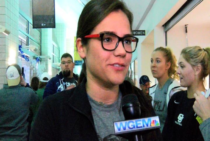 Marissa Gonzalez discussed the event's impact.
