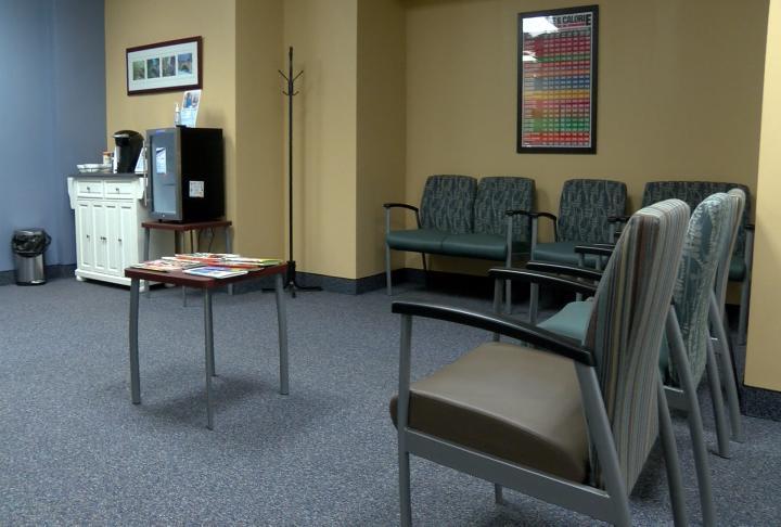 Knapheide clinic waiting room