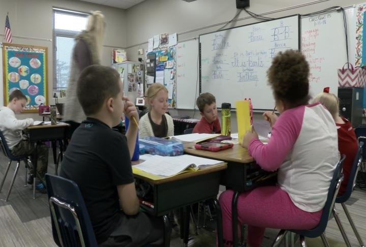 QPS students in classroom