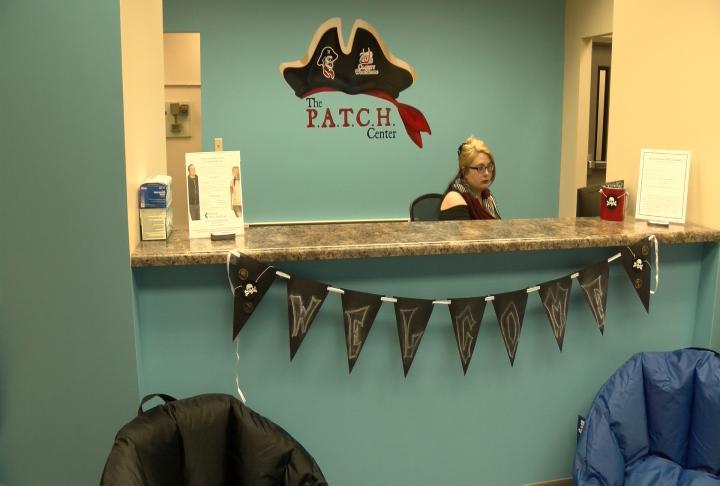 P.A.T.C.H. Center reception desk