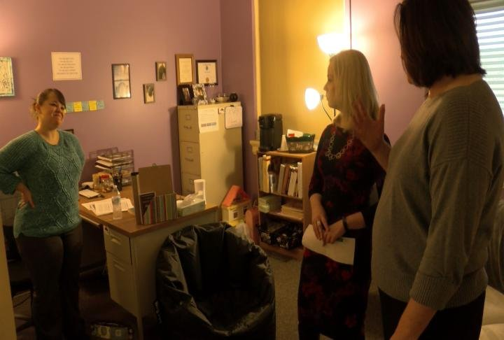 Mental health treatment room