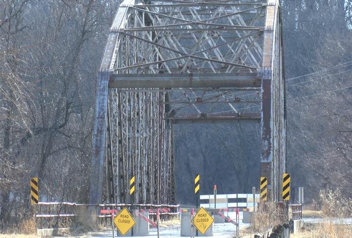 The bridge in Taylor, Missouri is expected to cost the county $1 million.