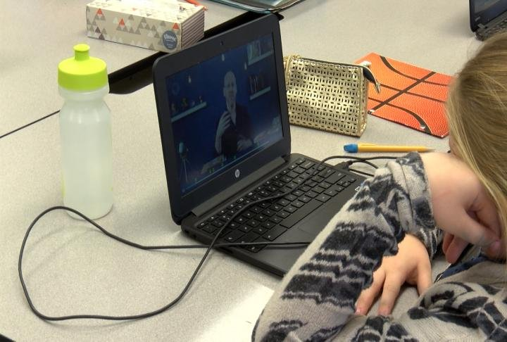 Technology has become a big part of classrooms in the district.