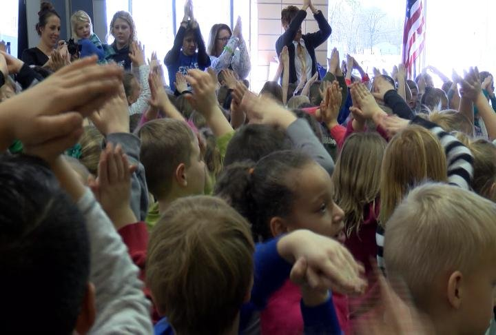 Students celebrated an accomplishment the school had been working on for the past 5 to 6 years.