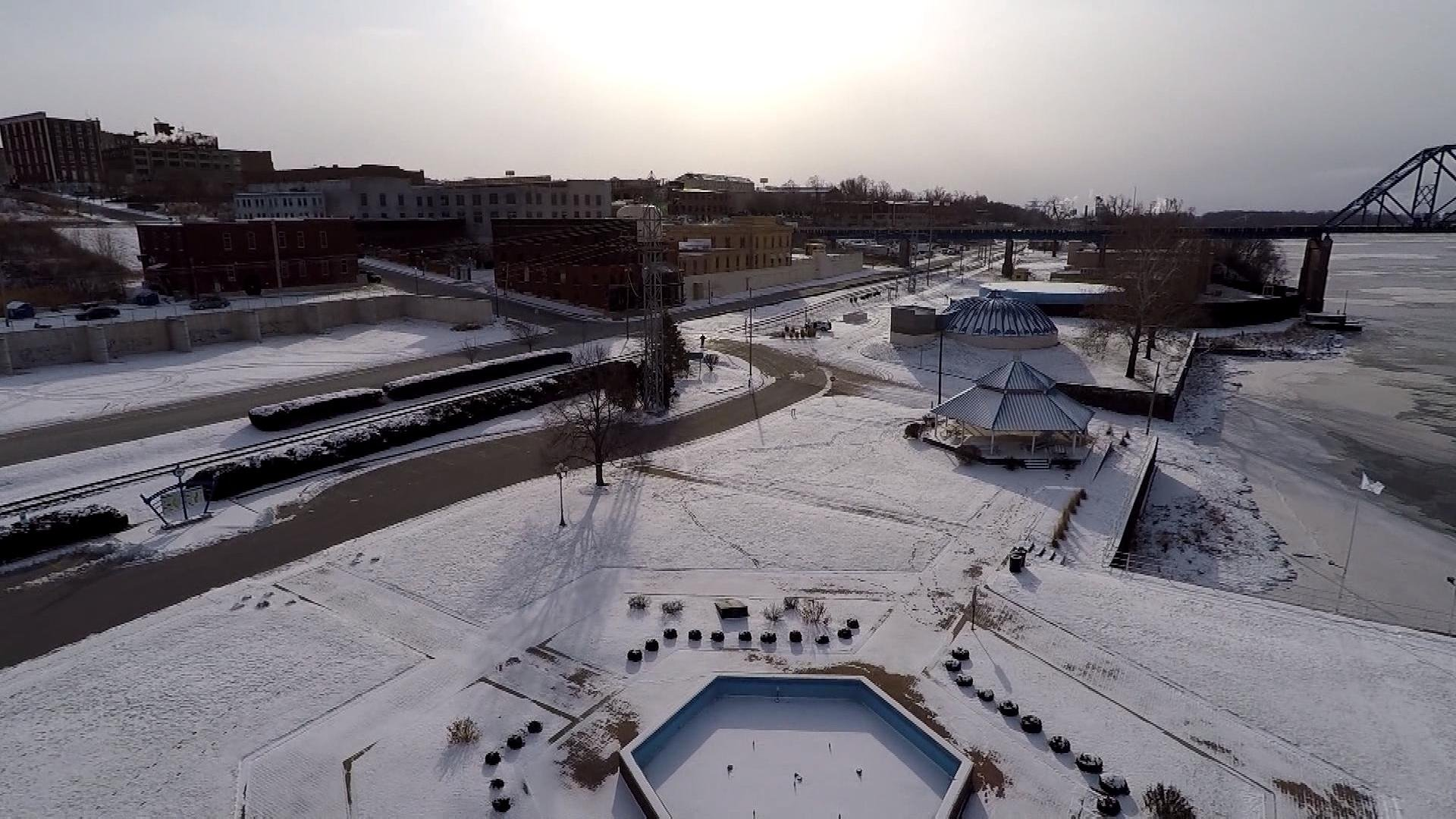 An aerial view from the WGEM News Drone of Quincy's riverfront.jpg
