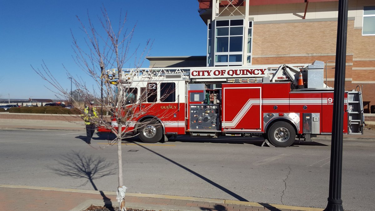 Fire crews responded to the Kroc Center.