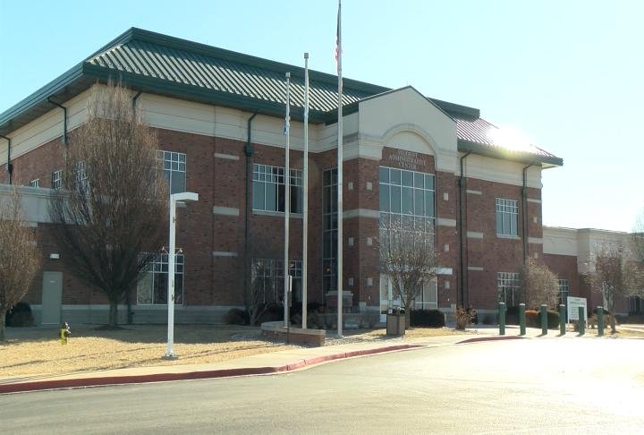 Exterior of John Wood Community College.