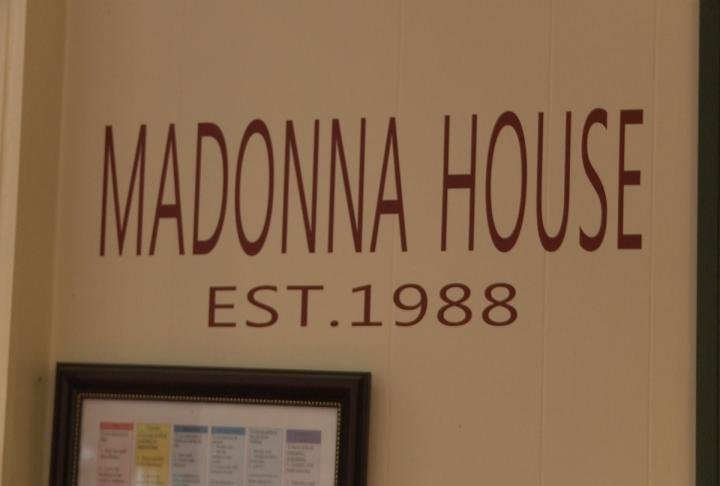 The Madonna House closed in December.