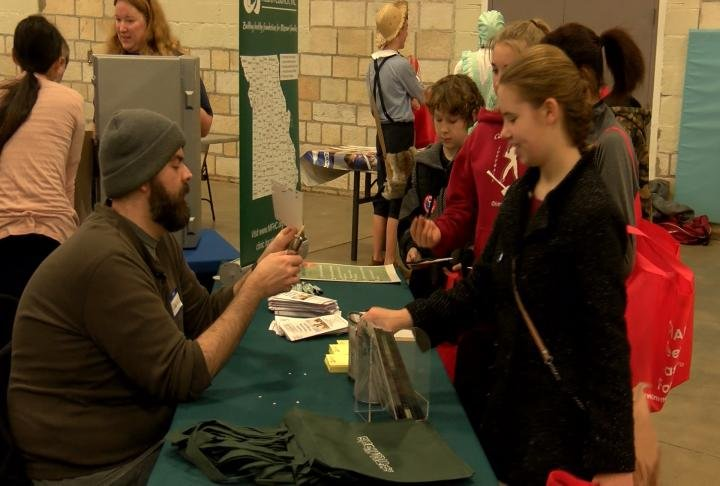 The health fair took place on Saturday.