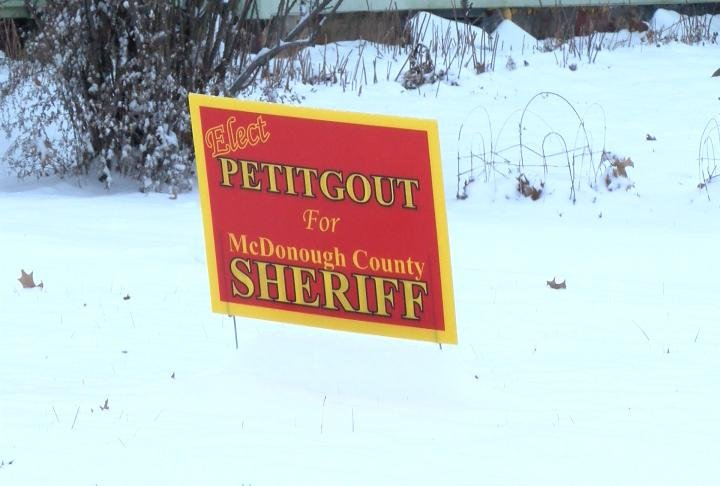 Petitgout is running for sheriff.