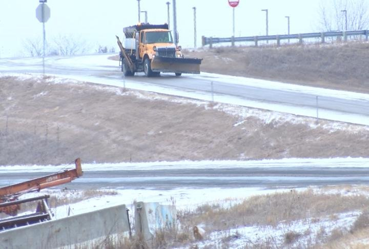 MoDOT crews out on the roads and exits.