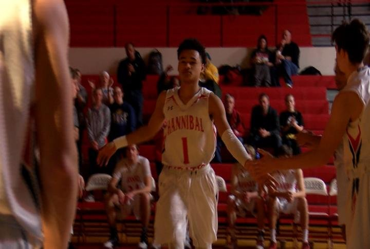 Hannibal's Dezi Jones has a chance to eclipse the 2,000 career point mark before his time is up at Korf Gym.
