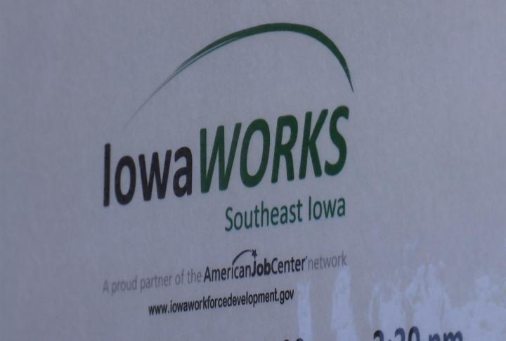 Iowa Works scheduling a career fair for workers.