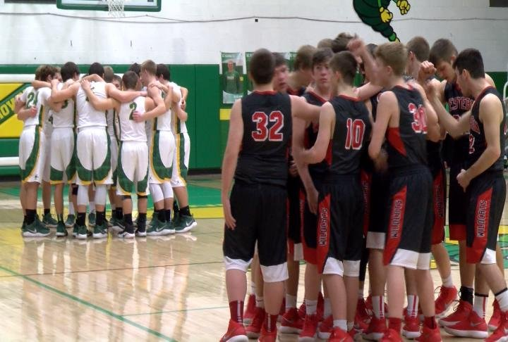 Brown County and Western played to a triple overtime thriller at The Nest.