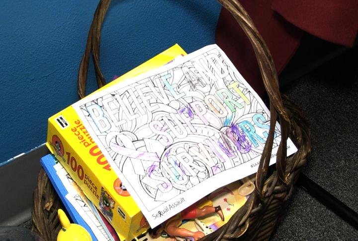 A survivors coloring page.