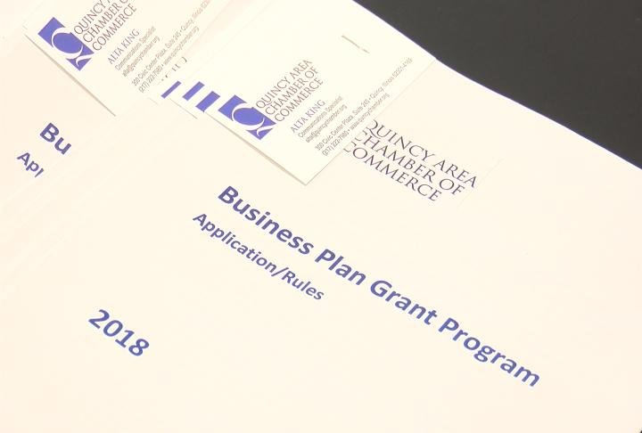 Business plan grant program application