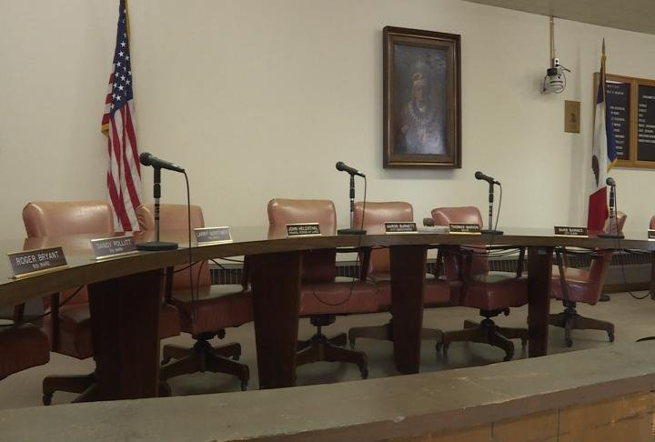 Council met in the chambers Wednesday.