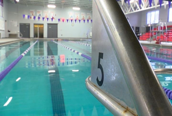 Swimming pool at the Hannibal YMCA