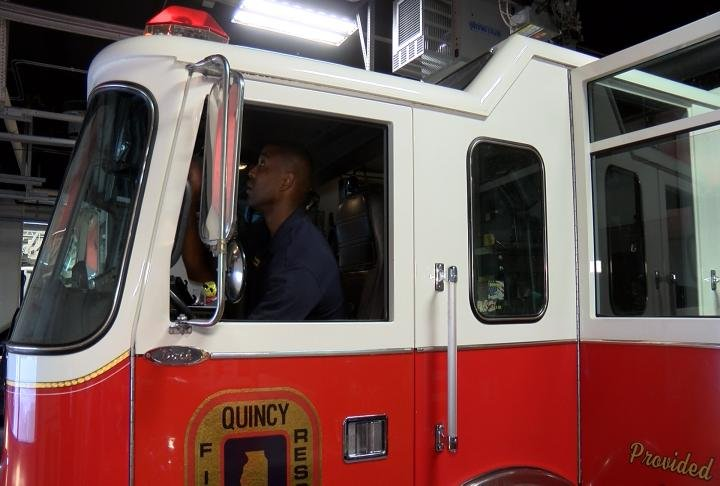 Michael Dade with the Quincy Fire Department says safety should be on top of driver's minds.