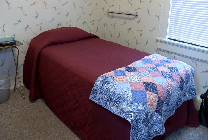 Bed in Quincy house