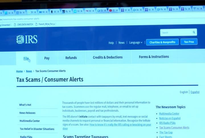 New scam targets tax preparers