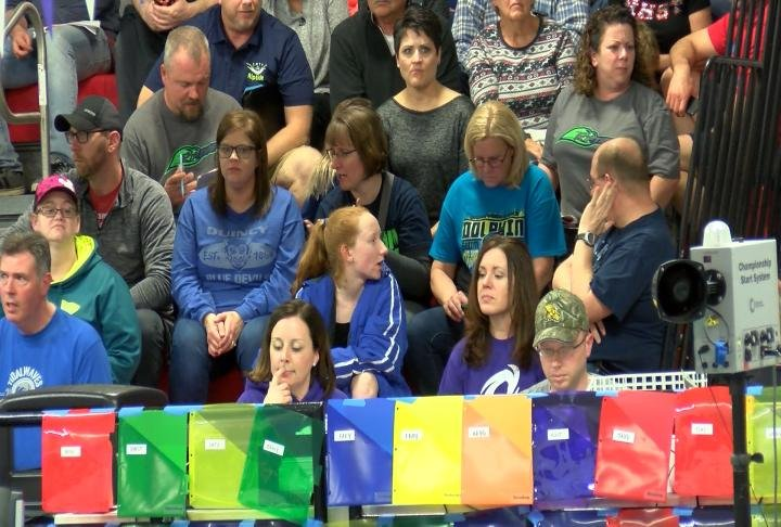 560 swimmers from 22 teams will compete at the Hannibal YMCA over the weekend.