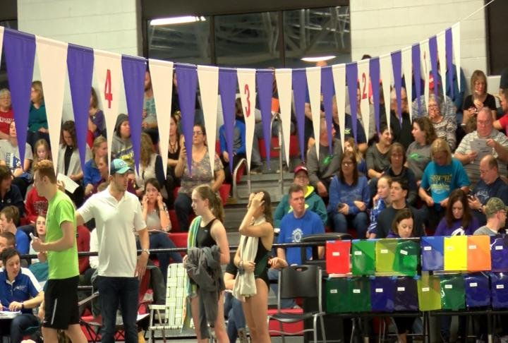The swim meets brings hundreds of people to America's Hometown.