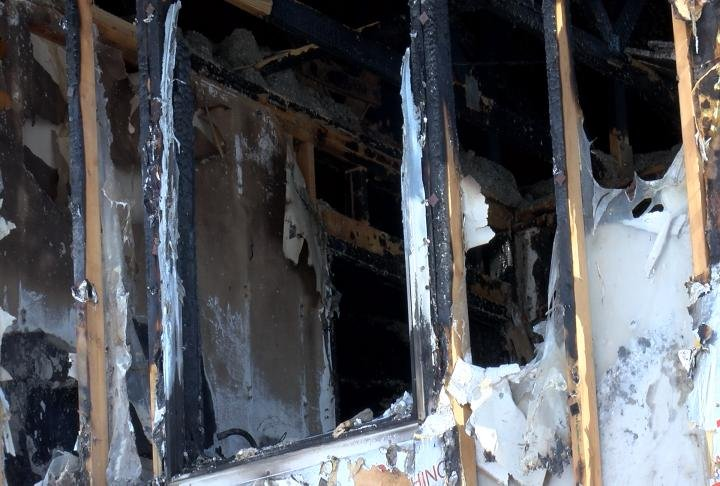 The owner was not home at the time of the fire.