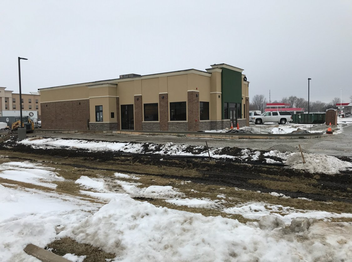 McAlister's Deli building on East Jackson St. in Macomb