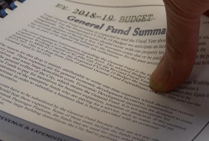 General Funds Summary in the Budget.