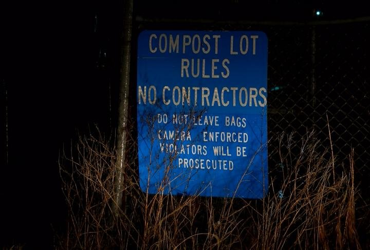 The compost lot was recently moved to 9th Street and Warren Barrett Drive.