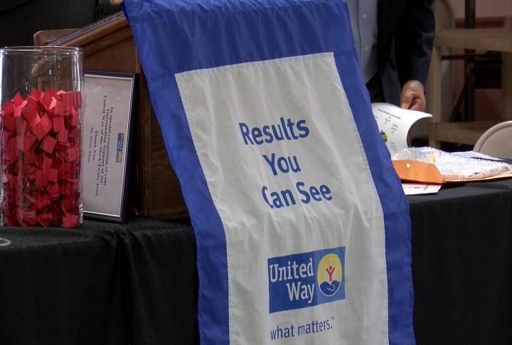 United Way banner