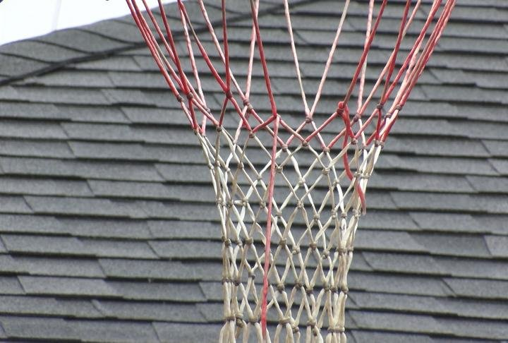 You won't be seeing basketball hoops on city streets in Palmyra anymore.