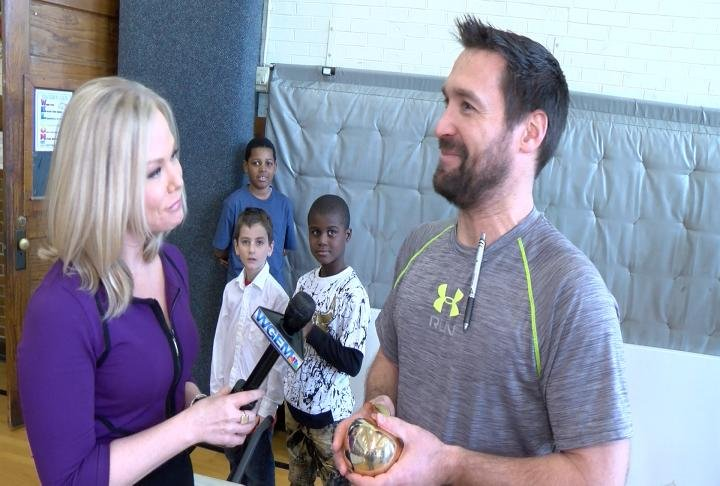 Broekemeier awarded WGEM Golden Apple