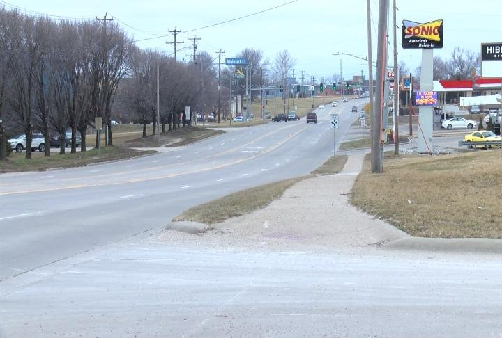 Burnett applied for a grant to continue and build sidewalks on Main Street