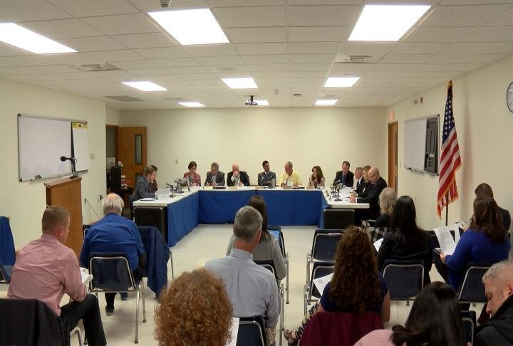 The school board discussed the recent drop in truancy.