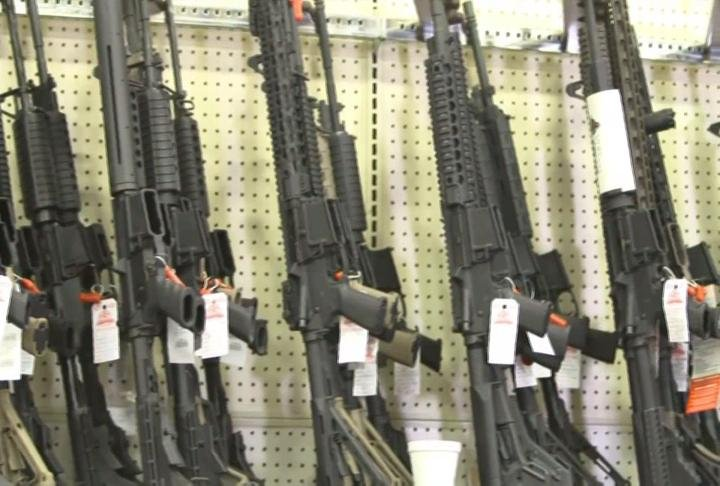 The bump-stock ban and higher age for assault-style gun sales still need Senate approval.