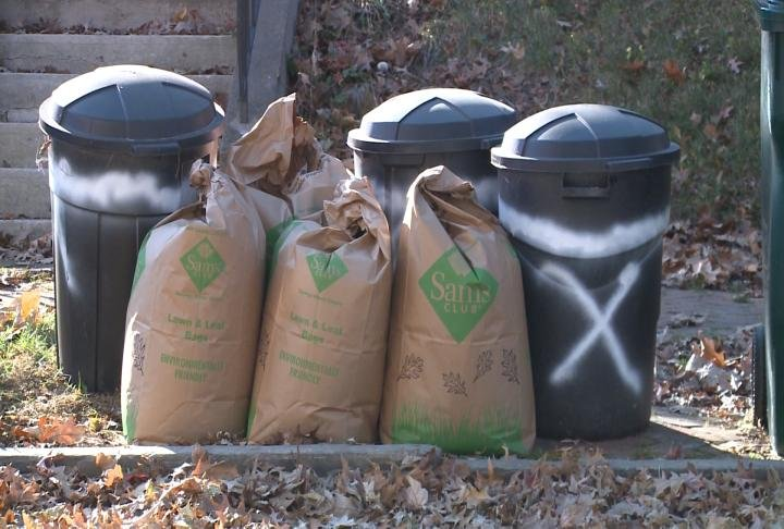 Yard waste collection resumes on March 19.