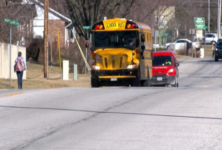 A Quincy mom is upset after she said a school bus driver dropped her son off on the side of a busy Quincy highway.