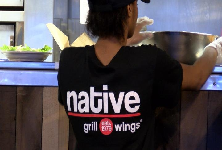 Native Grill & Wings will be opening on March 5.