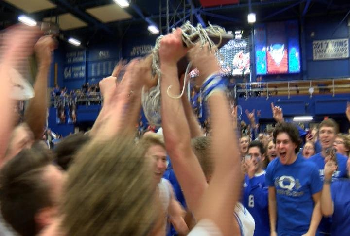 Quincy High School defeated Alton for its first regional championship since 2009.